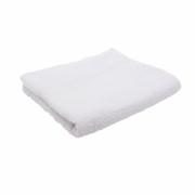 Полотенце махровое (белое, 50х90 см, 1 шт/упк)