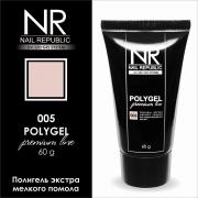 Полигель камуфлирующий PolyGel №005 Nail Republic 60 г