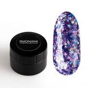 MONAMI, Гель-лак с блеском Purple (5 г)